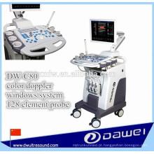aparelho de ultrassonografia 3D / 4D e de cor sistema de ultrassonografia Doppler DW-C80 PLUS