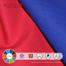 Xinke EN11611 100 algodão retardador de chama de tecido quintal para vestuário