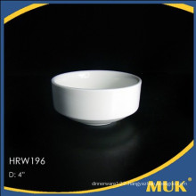 2016 modern wholesale hotel ceramic legant round design porcelain bowl