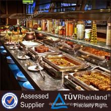 Professional Supplier Furnotel Brand Buffet Fish Restaurant Equipment Prices(CE)