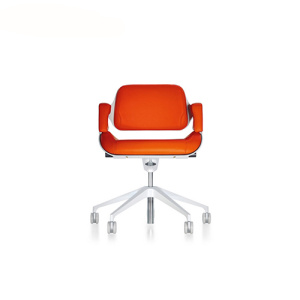 Interstuhl Silver Low Back Office Swivel Chair