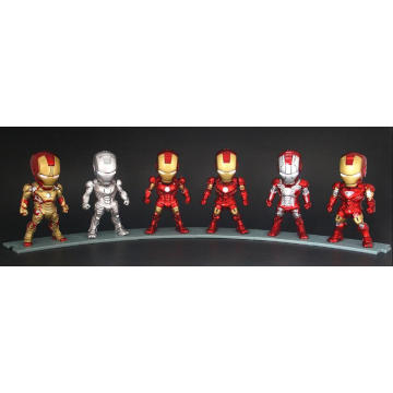 3D Customized Jointed Action Figure Doll Kids Educational Plastic Toys