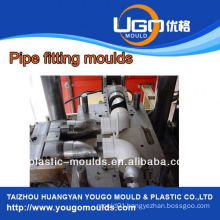 pipe fitting mold,PP collapsible pipe fitting mold(90 deg elbow) ,Plastic Injection PPR PVC PE Pipe Fitting mould