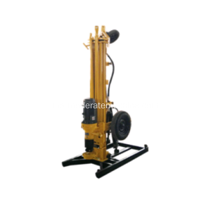 Electric 150m Mobile Portable Water Well Rig Drilling