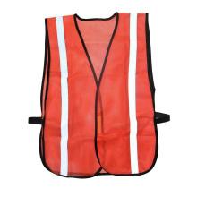 Luva de Segurança Refletiva Laranja Luva de Trabalho com Peças Elásticas de Malha