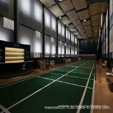 Interior / exterior de plástico de deportes de suelo para el corte de bádminton
