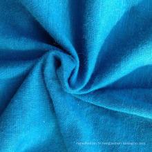 Tissu en tricot en fibre de coton biologique