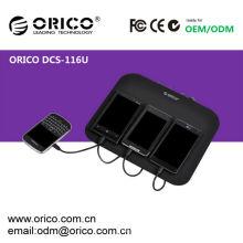 Chargeur USB ORICO DCS-116U pour iPhone, iPad, Station de recharge pour téléphone portable, station de chargement USB