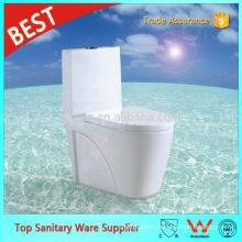 Foshan Sanitaires Fournisseur Blanc Couleur S-piège Siphon Jet One Piece Toilettes