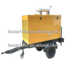 Mobile Generator with Two Wheel Trailer