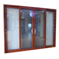 2.0mm thickness 5mm double  tempered clear glass  aluminium sliding door pictures