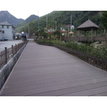 Extruded Wood Plastic Composite Decking for Sale