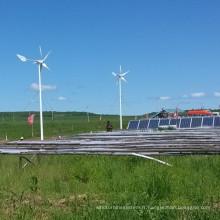 Système d'alimentation électrique de panneau solaire de turbine de vent utilisé à la ferme