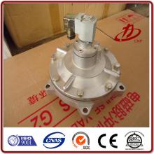 Válvula de pulso de série da série do saco válvula de solenóide de alta temperatura 220 volts