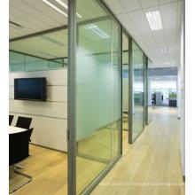 Nouvelle porte de bureau design avec fenêtre en verre à vendre