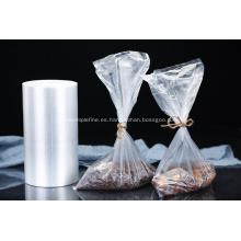 Bolsa de embalaje de alimentos congelados de plástico transparente
