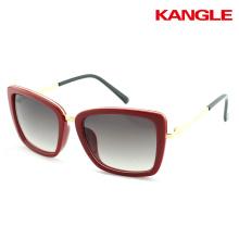 Cheaper custom logo female AC lenses sunglasses glasses 2017