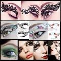 Новый дизайн леди глаз временные татуировки стикер магия мгновенных тени для век наклейки татуировки глаз