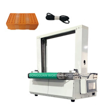 Currency Strapping Machine Automatic Paper/opp Film Banding Machine Banknote Banding Machine with Conveyor Band Packaging