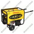 Ar de arrefecimento 5.0kw gasolina gerador com partida elétrica
