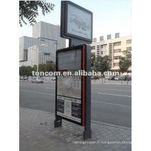 Kiosques d'arrêt de bus