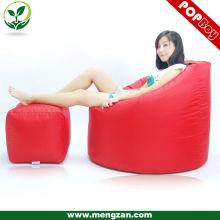 Beanbag perezoso Sofá suave muebles / bolsa de frijol esquina sofá cubierta / venta caliente