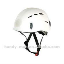Light-weight PP Plastic Rock Climbing CE UIAA Certified Safety Helmet