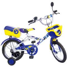 Велосипед с двумя колесами с корзиной