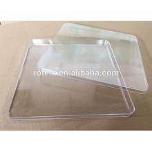 Fábrica directa 250 * 250 mm plástico desechable cuadrado laboratorio petri placas
