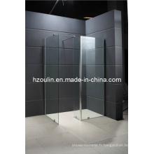 Salle de douche sans cadre avec charnière (SE-211)