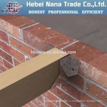 Высококачественные стальные оцинкованные деревянные коннекторы / металл оцинкованный лесоматериалами