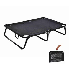 Portable Dog Bed Mesh Breathable Fabric Steel Frame Outdoor Dog Bed Elevated Folding Dog Bed