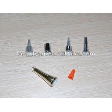 Пластмассовый крем косметический острый колпачок для мягкой трубки