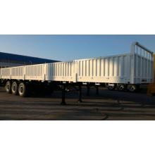 Компания sinotruk 13.5 м бортами грузов и контейнеров Полуприцеп грузовика
