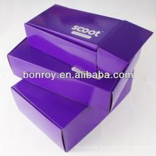 caja de regalo de joyero de papel