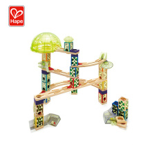 Hot Sale Funny Baby Wooden Toy Marble Run,Marble Run Construction