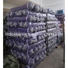 Tecidos de microfibra de 100% poliéster tingidos de alta qualidade para lençóis