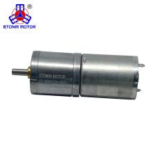 robotic dc gear motor 12v 60 rpm