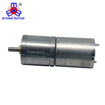 3v 6v 12v 24v lärmarmer DC-Getriebemotor mit Encoder