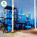 Advanced Pyrolysis Plant Converting Plastic Waste to Fuel Oil