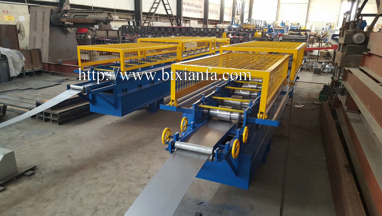 roll forming angle machines