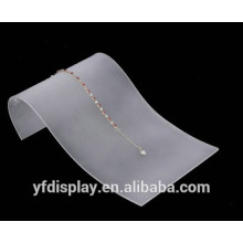 Klare Acryl Halskette Display Halter