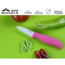 Fabricante profissional da faca de cozinha da faca cerâmica da fruta
