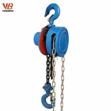 Alzamiento de cadena manual de elevación de la mini máquina para grúas