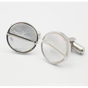 Moda Tornillo Cap Design 316L Stainless Steel Cufflink