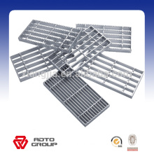 Various Size Steel Grating Hot Galvanized Steel Treads with ISO SGS