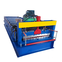 Warna Prepainted Baja Sheet Roll Forming Machine