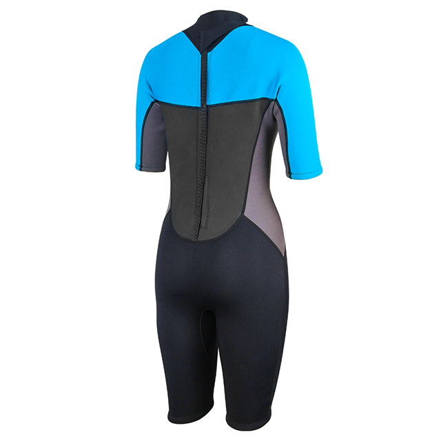 Back Zip Women Shorty Wetsuits