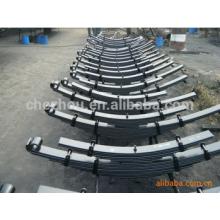 truck steel leaf spring suspension