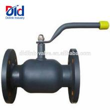 Gaz de robinet à boisseau sphérique à passage intégral en acier inoxydable à actionnement fileté à 6 brides, 2,5 pouces 2